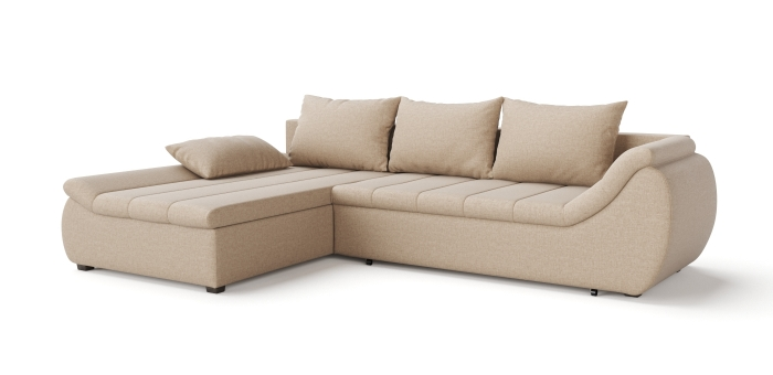 Corner sofa scarlet -1