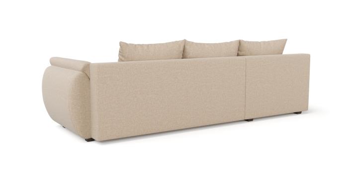 Corner sofa scarlet -2