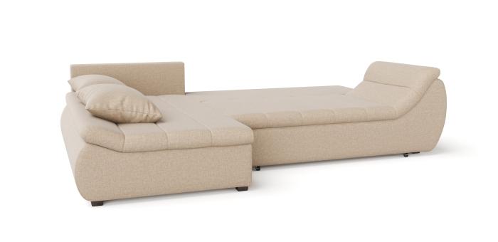 Corner sofa scarlet -3