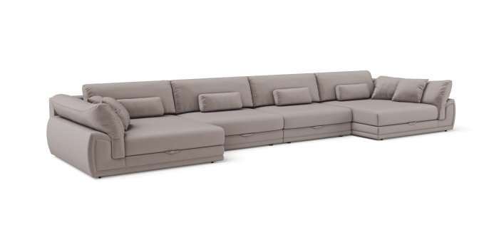 Modular sofa Gemma U-shaped -1