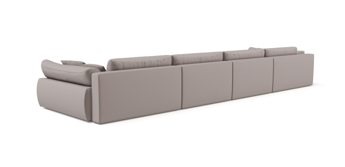 Modular sofa Gemma U-shaped -2