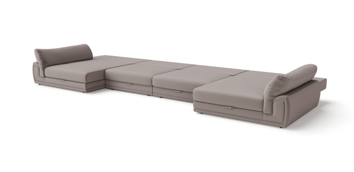 Modular sofa Gemma U-shaped -3